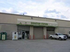 DDA donation station